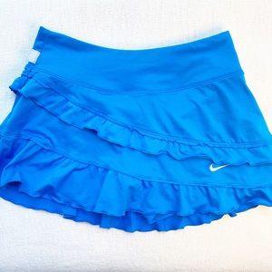 NIKE Ruffle Mini Tennis Skirt Skort